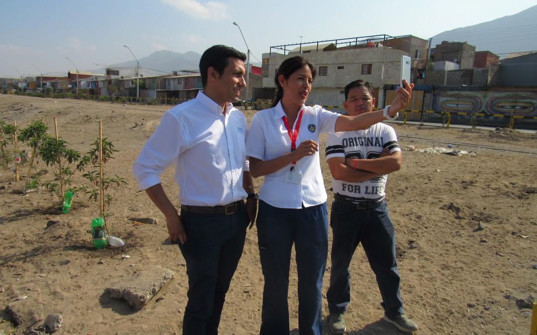 FCAB, Alcaldesa y vecinos  recorren exitoso piloto de 'Vía Compartida'