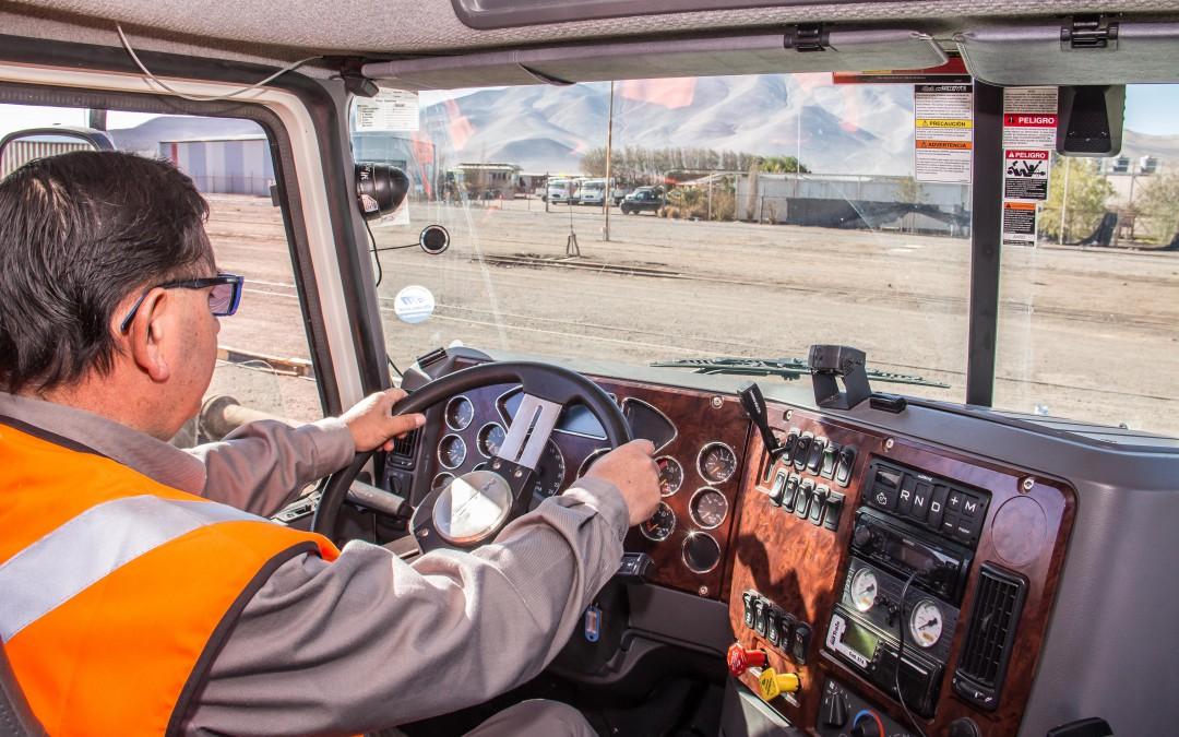 Tecnología de punta para seguridad de conductores de camiones en FCAB – TRAIN Transportes Integrados