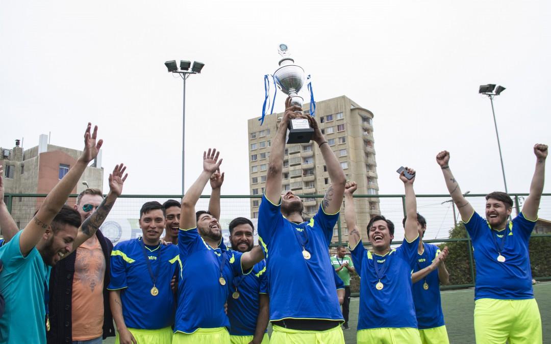 Turno A DRI se coronó campeón de torneo de futbolito 2017
