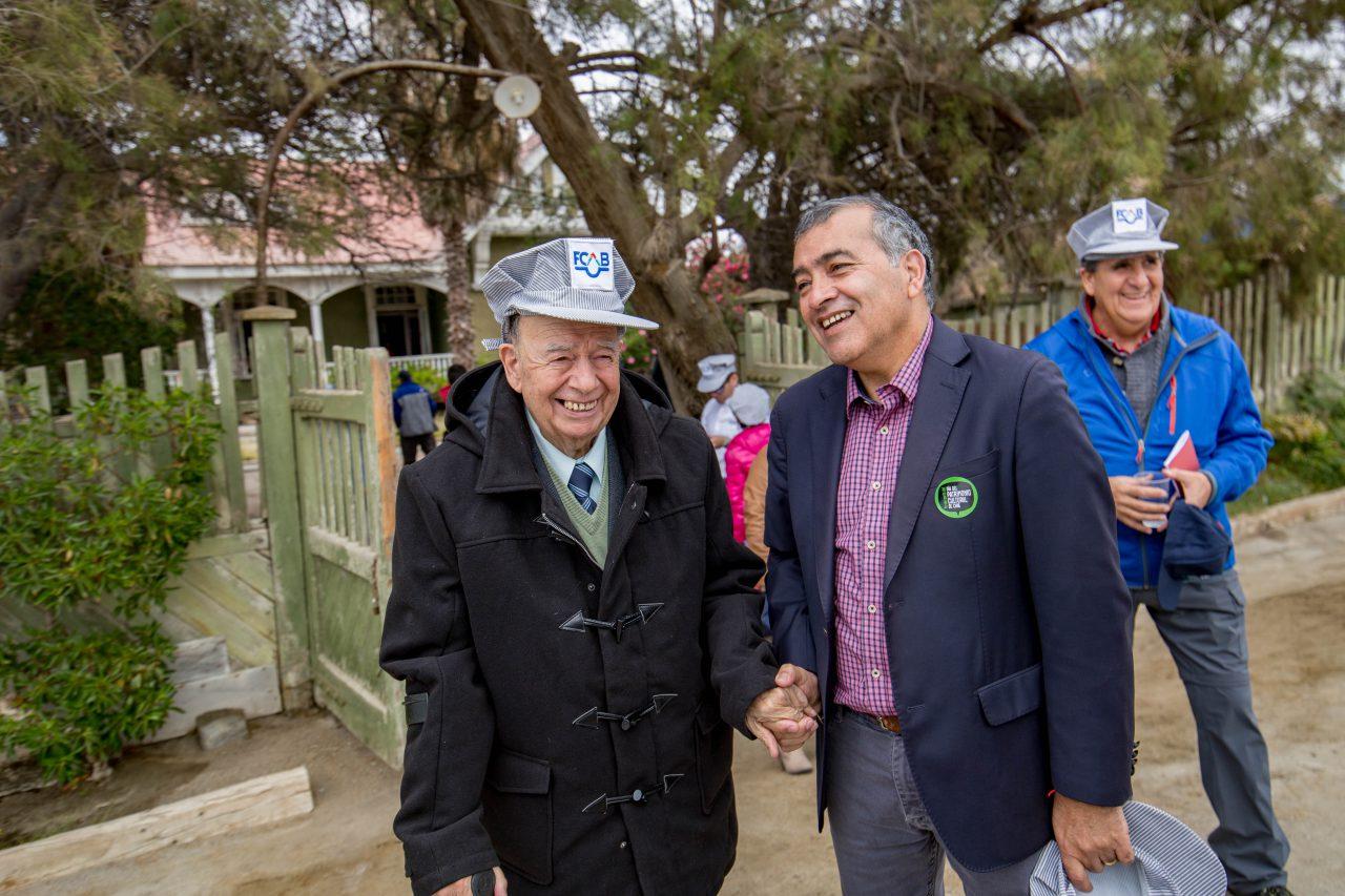 Luis Zaffiri y Sergio Vega _ Alcalde de Mejillones