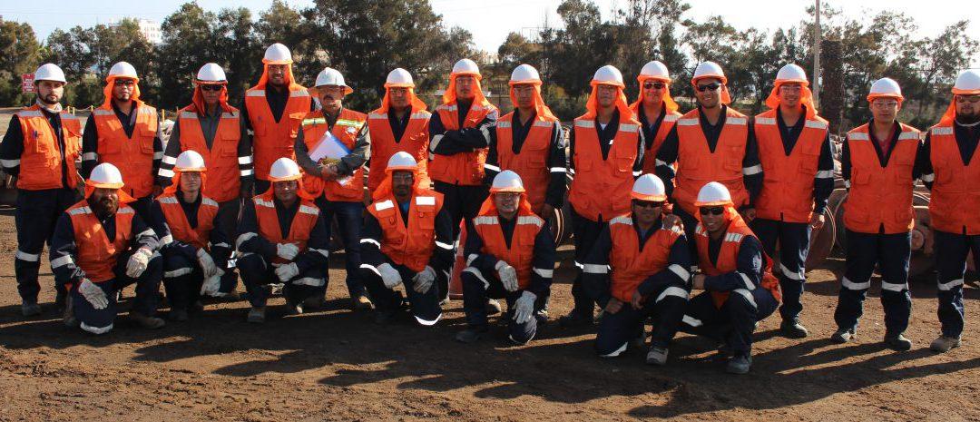 Aprendices: 20 jóvenes culminan capacitación como operador de trenes básico ferroviario