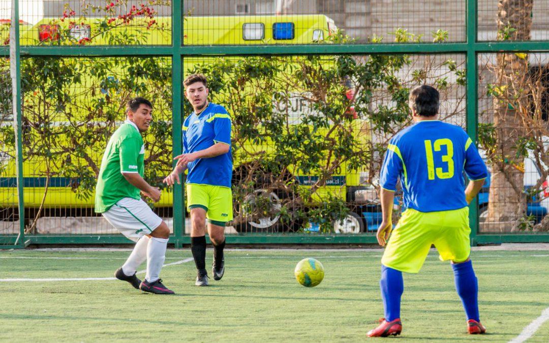 Avanza Campeonato de Futbolito FCAB 130 años