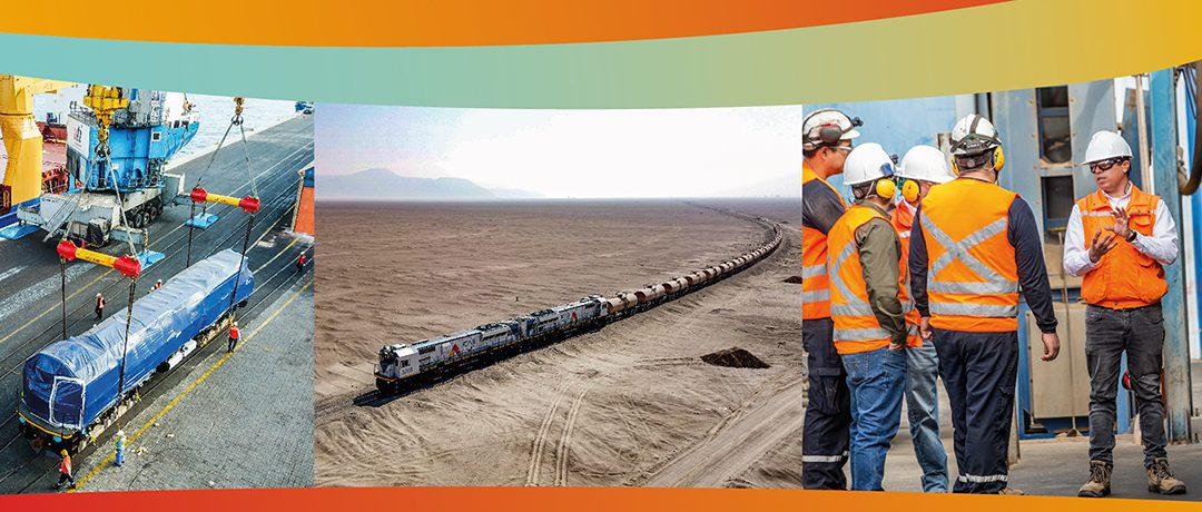 'Sigamos haciendo un gran trabajo en equipo y proyectando el futuro del Ferrocarril con solidez'