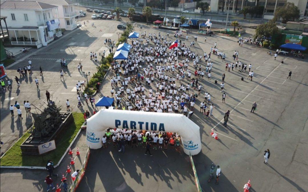 Cerca de 2 mil personas participaron en corrida familiar