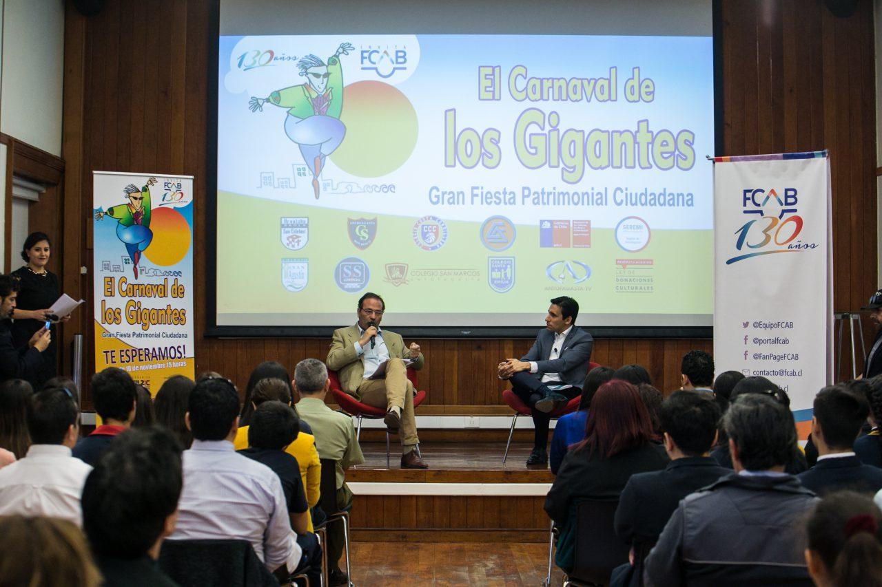 Lanzamiento Carnaval de los Gigantes FCAB-21