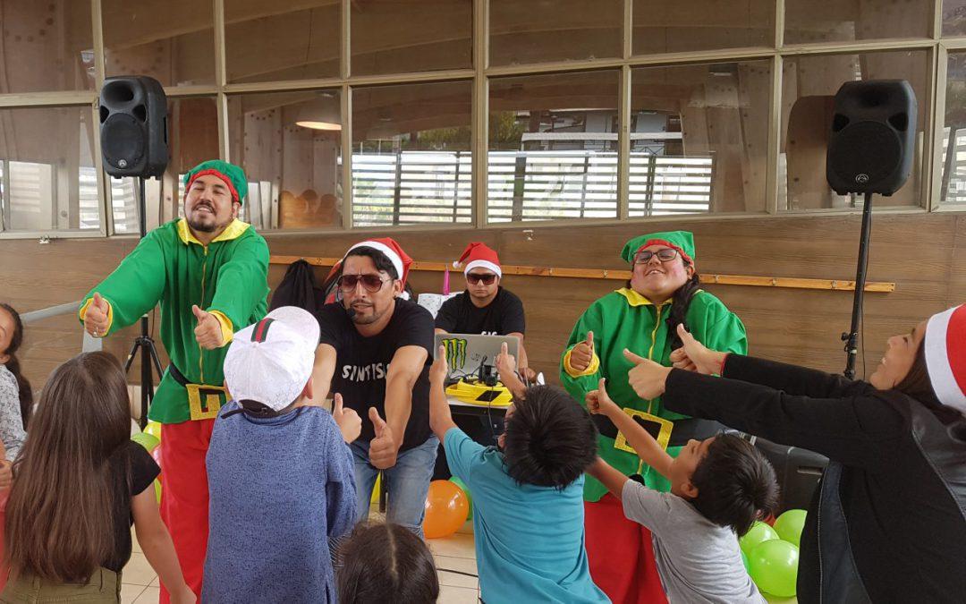 Ferroviarios solidarios: Navidad junto a niños vulnerables en Antofagasta