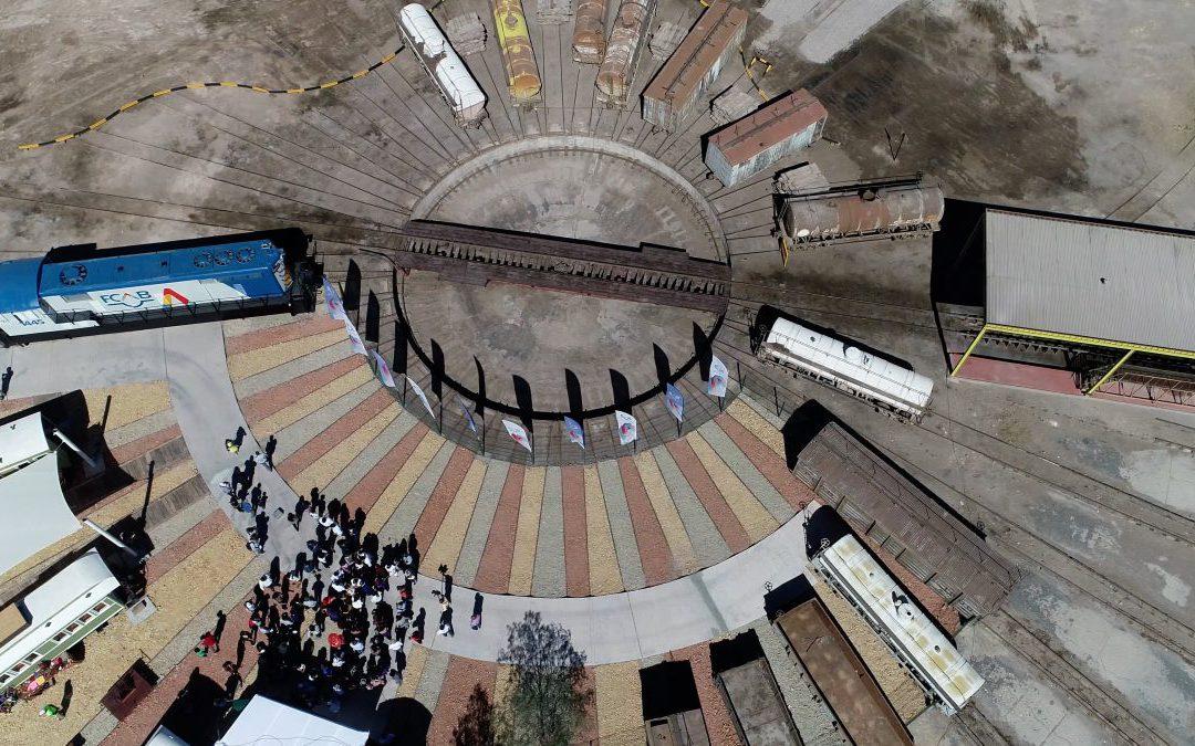 Paseo Estación Calama y Tren Aniversario:  El regalo de cumpleaños de FCAB a la ciudad
