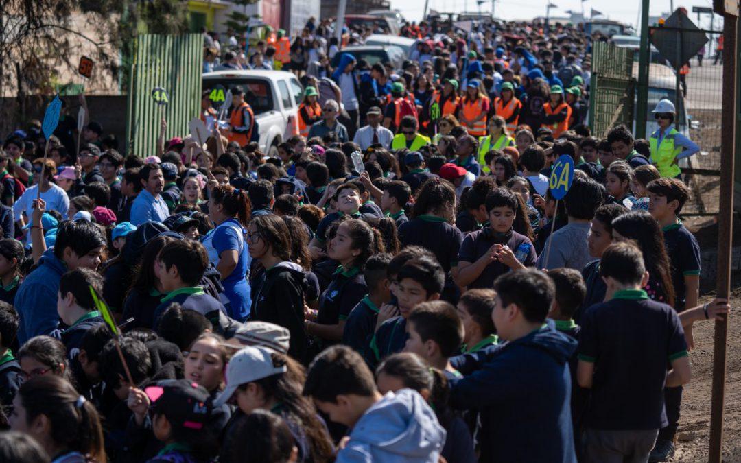 4 MIL VECINOS PARTICIPARON EN SIMULACRO DE EVACUACIÓN POR SISMO-TSUNAMI