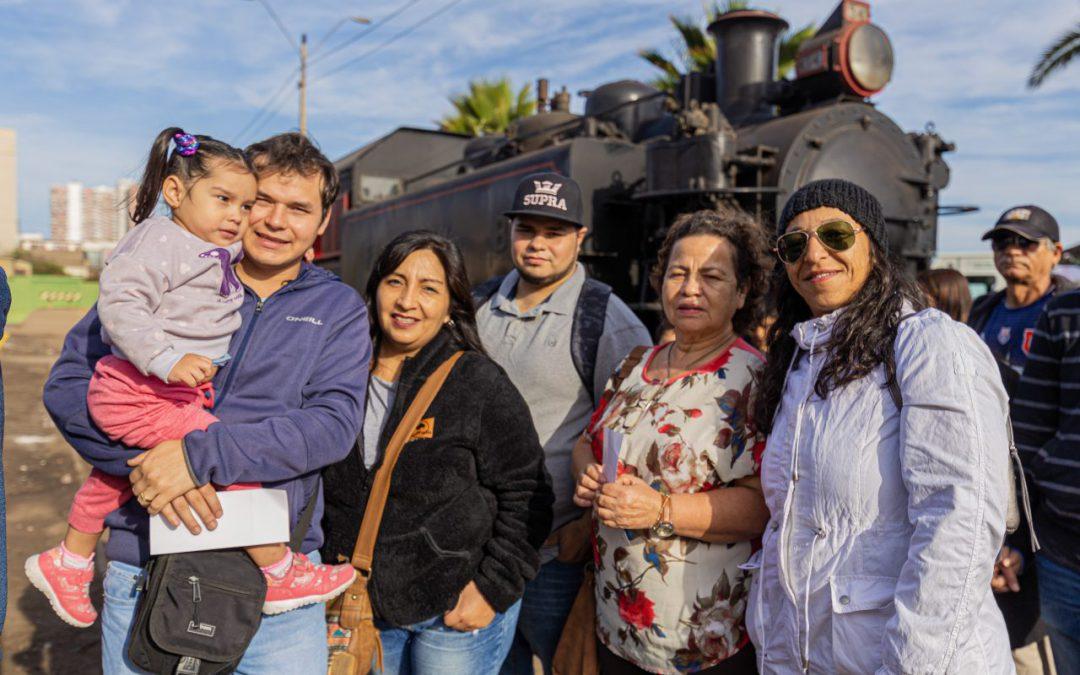 El inolvidable Tren de la Familia Ferroviaria