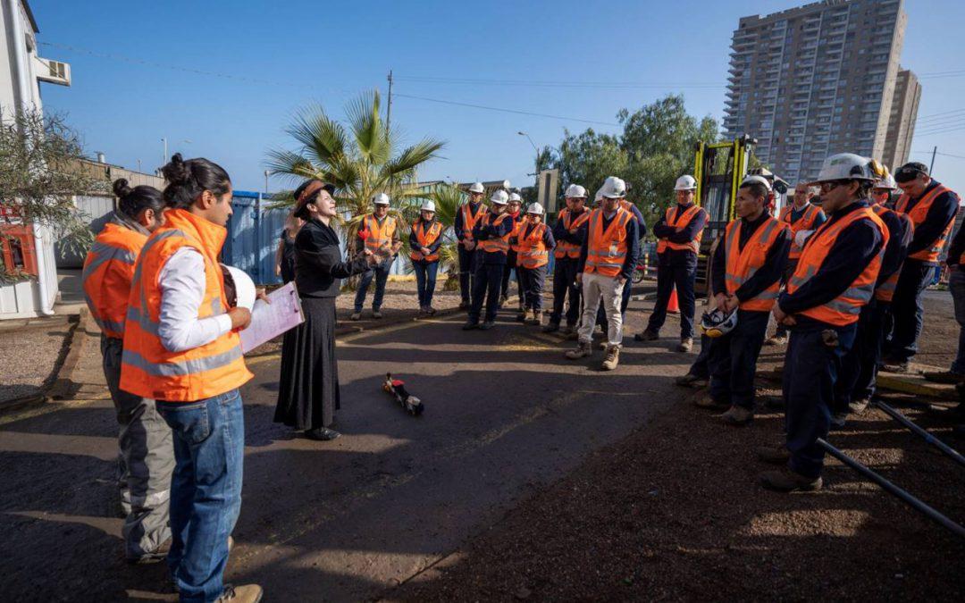 Compartimos con trabajadores y comunidad 1ra. Semana de la Seguridad