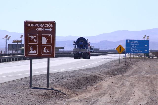 Inauguramos letrero caminero turístico de acceso a Comunidad GEN