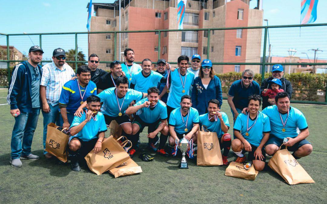 Casa Máquinas/Dri alzó la Copa FCAB 2019