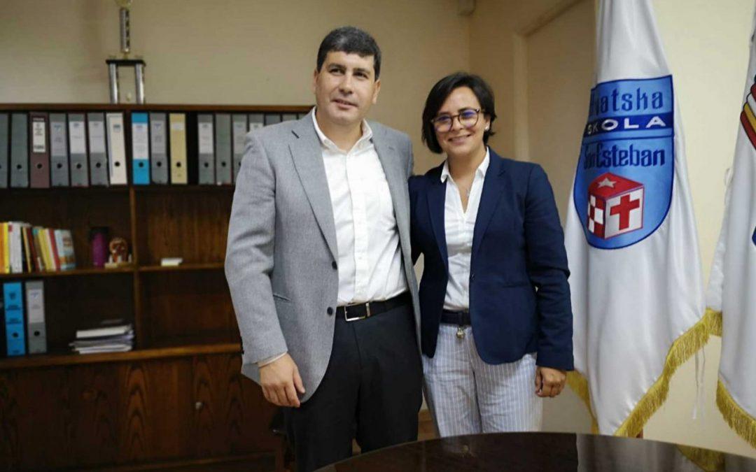 FCAB y Colegio San Esteban firman convenio de colaboración