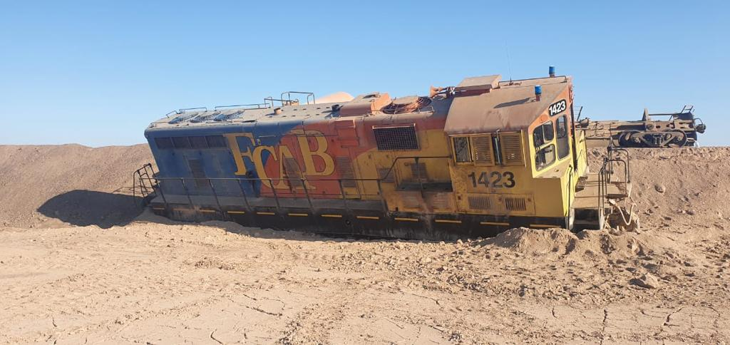 Desrielo de Tren del FCAB