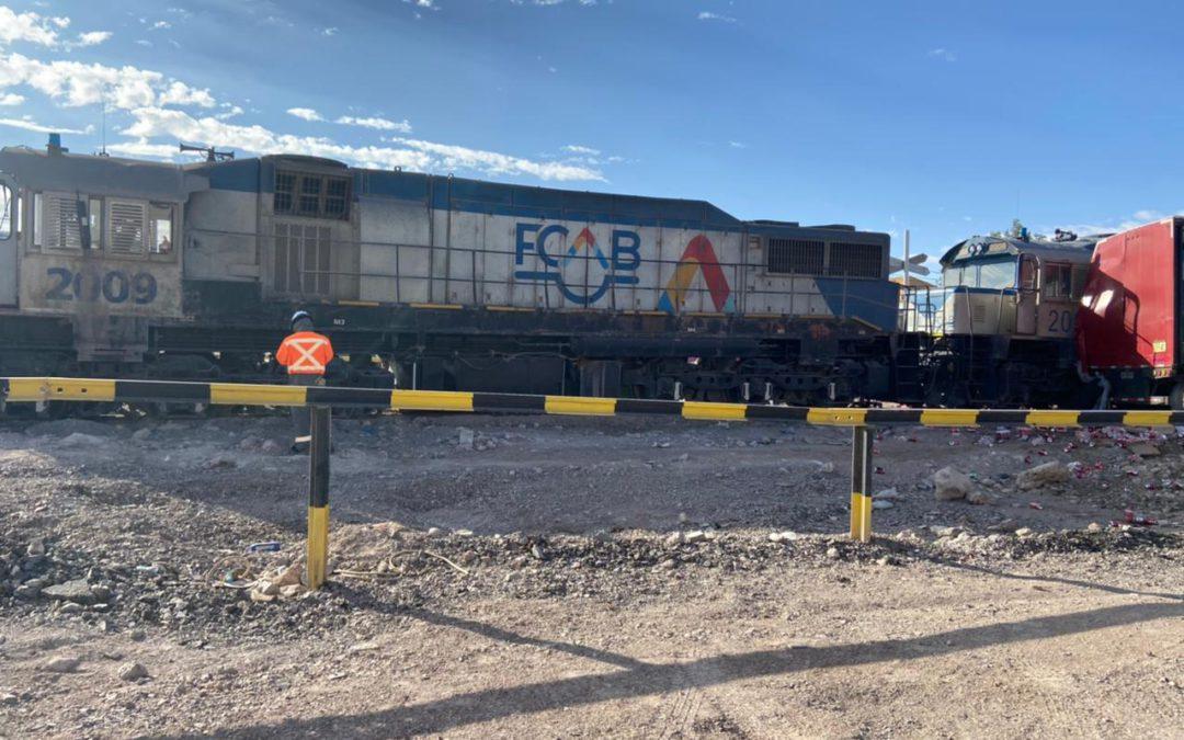 FCAB lamenta incidente ferroviario por imprudencia en Calama