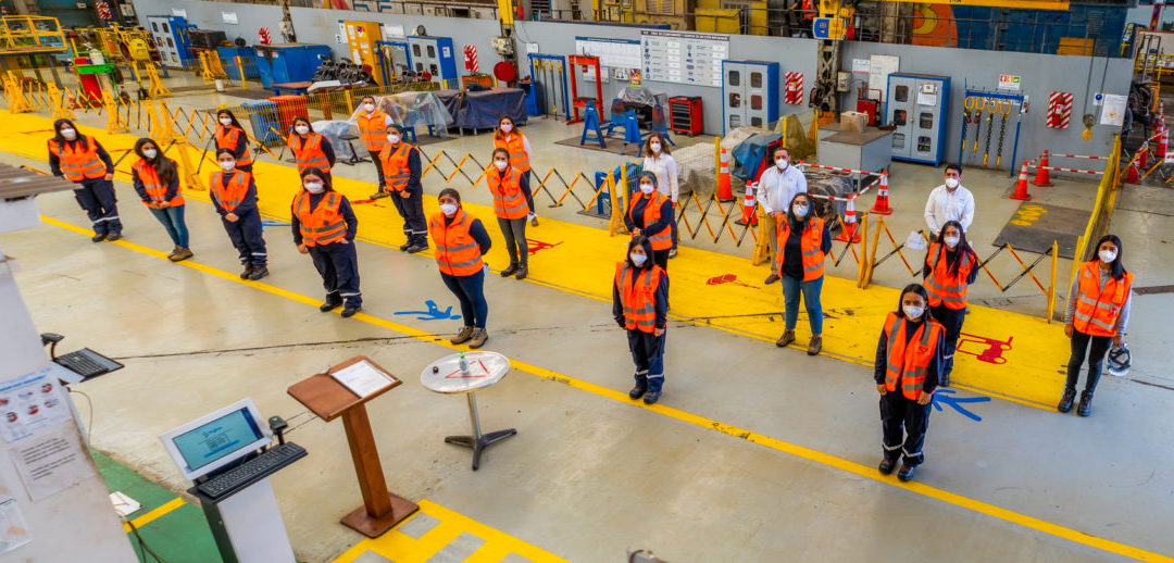 Aprendices arriban a FCAB para formarse en mantenimiento ferroviario